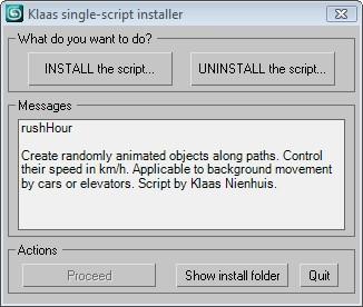Install a single script in 3ds max - Klaas Nienhuis