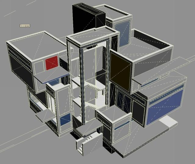 Maison D 39 Artiste Layar 3d Model Klaas Nienhuis