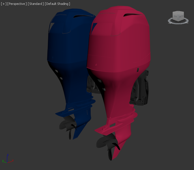 two engines in 3dsmax