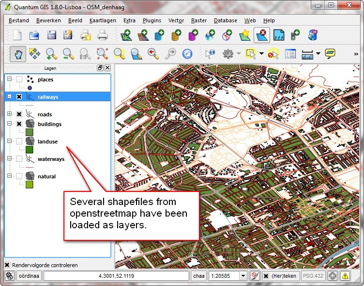 Creating maps with qgis and tilemill - Klaas Nienhuis