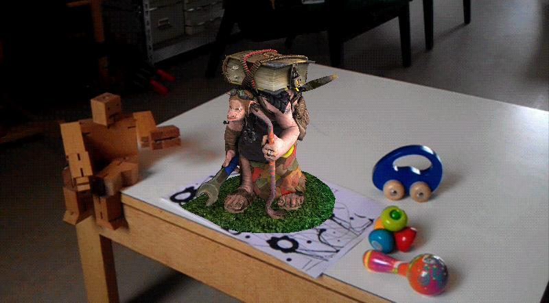 augment troll 3d