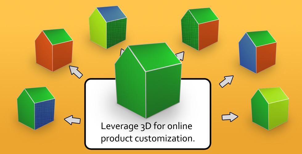 3d product customize