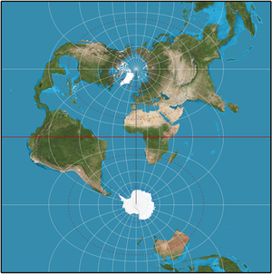 Transverse mercator projection