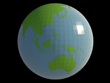 Globe build by mapmax