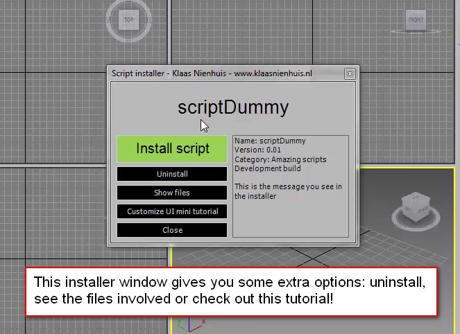 An installer dialog opens