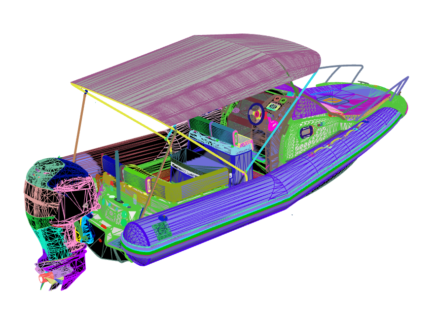 One of the 3D models