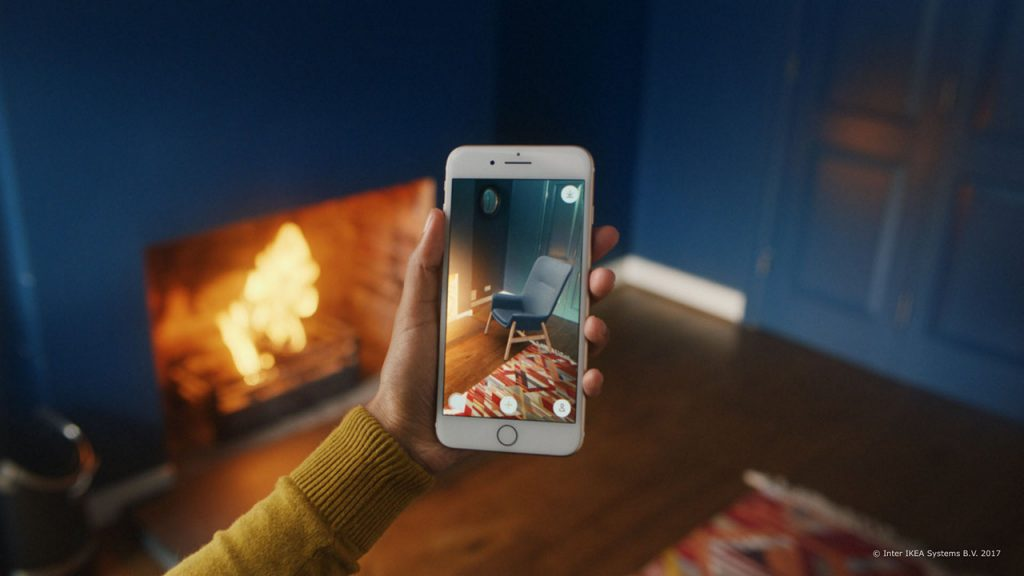 IKEA announces the launch of IKEA Place, an augmented reality app that lets people virtually place furniture in their home.