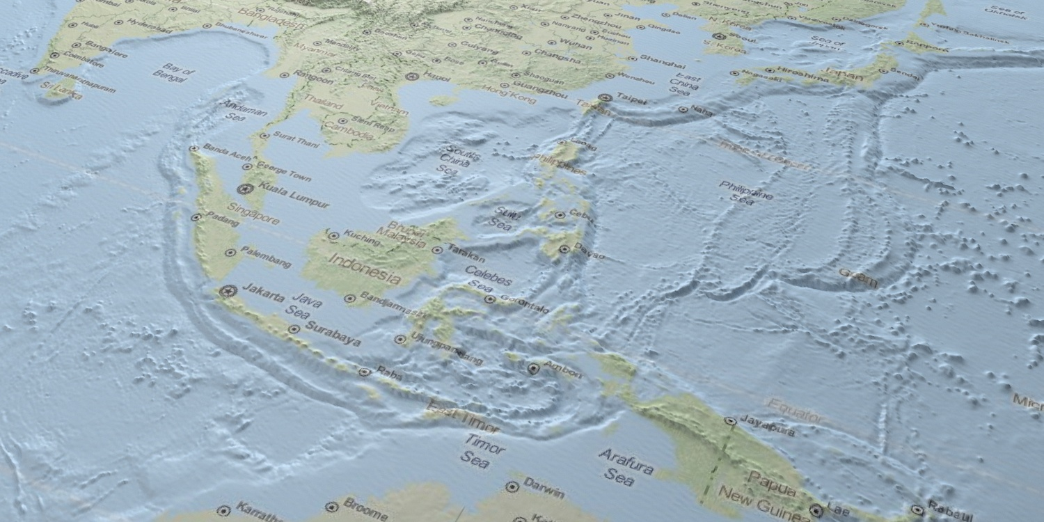 South East Asia in 3D