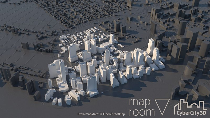 Maproom Plugs In CyberCity 3D Cities To 3ds Max