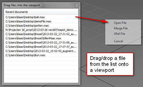 Drag drop with a dotnet listview
