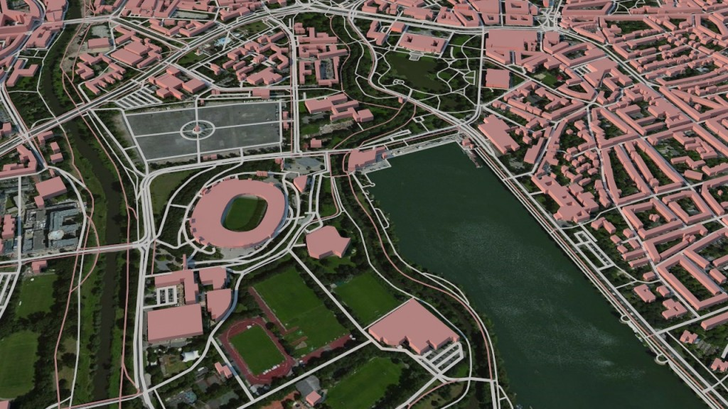 Hannover map rendered