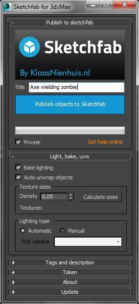The main script interface