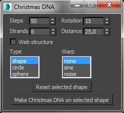 DNA and Christmas lights